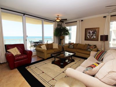 Photo for Indigo West 404- Beach Front Unit with Luxurious Interior and Amenities!