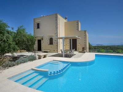 Photo for Casa Rustica with 2 bedrooms and a private pool in Maleme, Chania