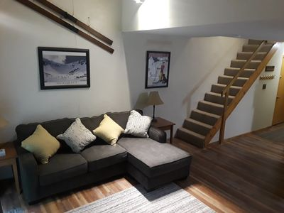 Photo for NEWLY UPDATED  2BR Condo at Attitash - PERFECT LOCATION - WALK TO ALL!!!