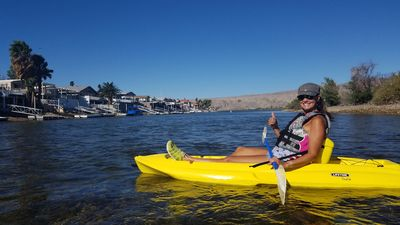 Photo for BHC Riverfront Rental - Laughlin/Bullhead City - Private Dock - BBQ - Ping Pong