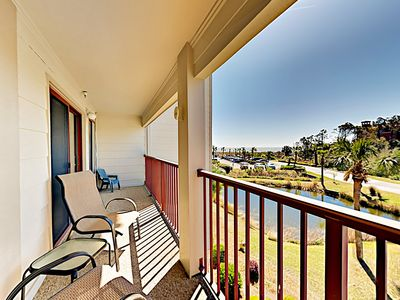 Photo for Amenity-Rich Beach Condo w/ Pools, Tennis Courts & Ocean-View  Balcony