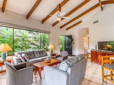 Photo for Modern Villa w/ private and shared pools, central AC, & private beach access