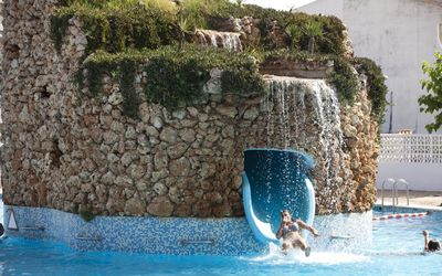 Photo for Duplex bungalow with access to water park