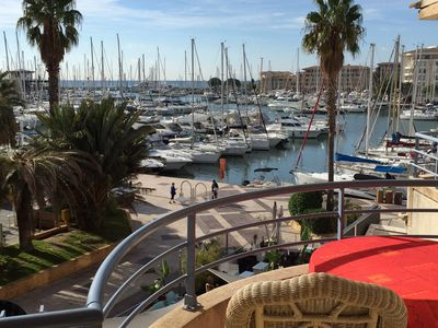 Photo for Sublime apartment in the heart of Port Frejus (7 persons - 80sqm)
