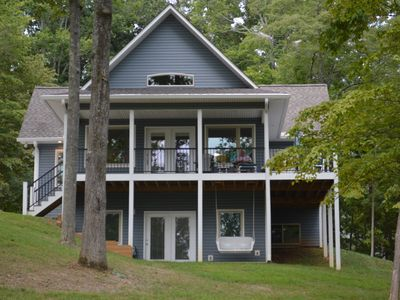 Photo for Beautiful New Norris Lake-view House in a Golf Course Community