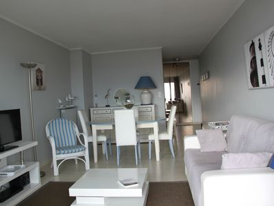 Photo for Seafront Apartment T3 spacious and bright near Thalasso and Casino