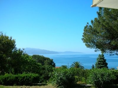Photo for Very nice villa, 300m from the sea, outstanding view