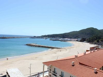 Photo for Sesimbra Luxury Apartment with jacuzzi, terrace and panoramic view over the bay