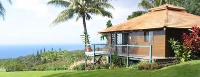 Photo for Private, Honeymoon Cottage - 180 Degree Ocean Views