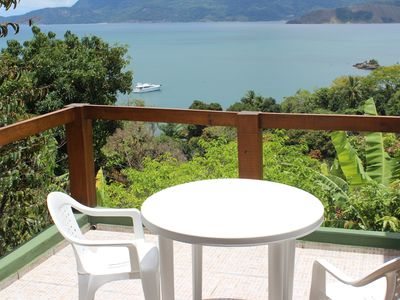 Photo for Ilhabela, house 200 meters from the beach, beautiful view and great price