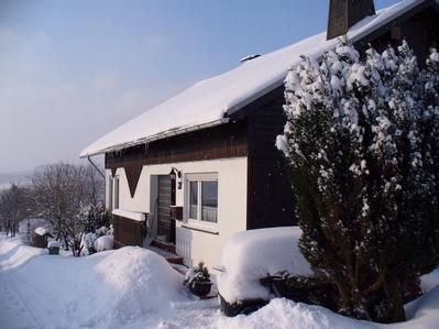 Photo for Holiday apartment Winterberg for 2 - 4 persons with 2 bedrooms - Holiday apartment in a two family h