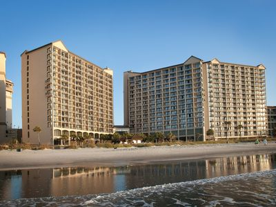 Photo for Oceanfront 2 Bedroom Condo w/Amazing View + Official On-Site Rental Privileges