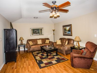 Photo for Stampede Dinner Show Ticket, Sunroom, Sleeps 4, Downtown Pigeon Forge