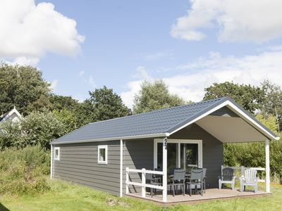 Photo for Strand49. nl Glamping Bungalow close to the beach 6 persons wifi 3 bedrooms