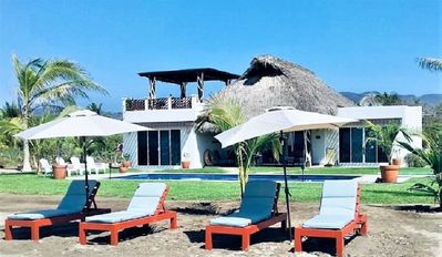 Photo for Full Service Beachfront Comfortable Home