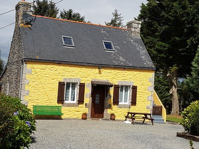 Photo for Traditional Breton Cottage in tranquil location, ideal for couples and family's.