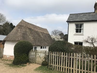 Photo for Beautiful Thatched Cottage in the Heart of the New Forest 'a romantic hideaway''