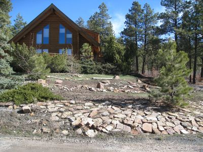 Photo for Lovely 3-3 Log Home for that special mountain vacation