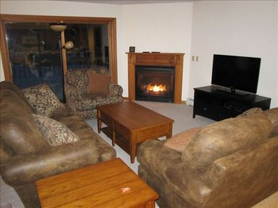 Living Room, 1st Floor, Access to Back Deck