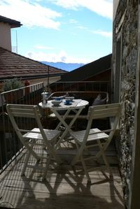 Photo for Cozy 2-room apartment with fantastic view of Lake Maggiore