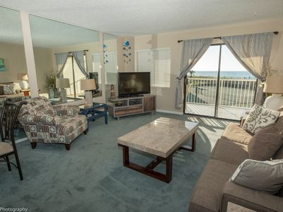Photo for HSR 206 is a 1 BR Gulf front recently redecorated