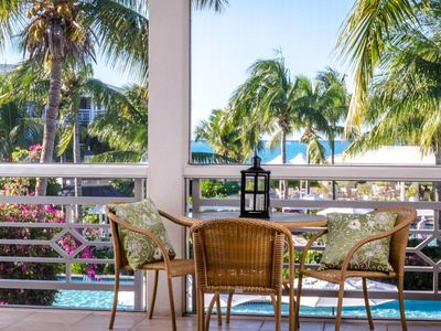 Photo for Private second floor OCEANVIEW in the heart of Grace Bay Beach