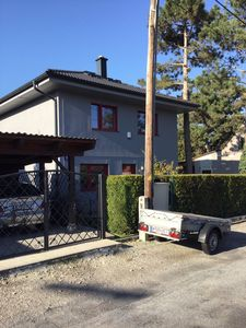 Photo for Holiday house Donaucity, whole house 4 rooms, 4 beds garden