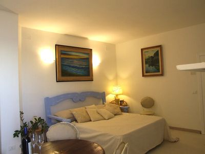 Photo for Elegant Studio Apartment with Enchanting Sea Views from the Terrace