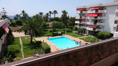 Photo for sea view apartment with pool and beach