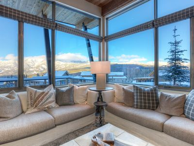 Photo for Moonlight Basin Excellence 4 Bed, 3 Bath, Easy Ski In & Ski Out ~ Club Access