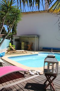 Photo for Villa with pool 100m beaches
