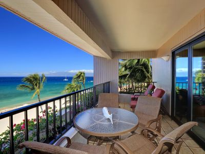 Photo for Luxury Oceanfront Kaanapali Alii - Oversized 2 Bdr/2 BA Condo