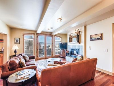 Photo for Park Street Penthouse East - Downtown location, Lake and Mountain Views