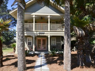 Photo for Close to Seaside/Seagrove Beach 2 BR/2 Bunks/2 Liv. Rms/Walk to Beach/Sleeps 10