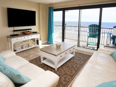 Photo for Spring Towers 604, 3 BR Ocean Front Luxury Condo with an Outdoor Swimming Pool, Hot Tub and Kiddie Pool