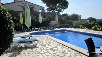Photo for *LUXURY DETACHED FAMILY VILLA WITH 8M POOL, AIRCON & WIFI