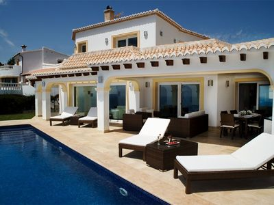 Photo for Exceptional luxury villa with unique panoramic sea views from Moraira-Calpe