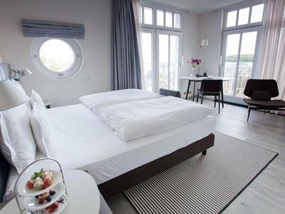 Photo for Corner room lateral sea view and balcony - HOTEL AM SEER & SPA