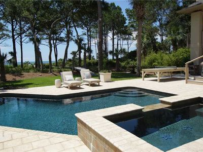 Oceanfront Home located on one of the best beaches on Hilton Head Island