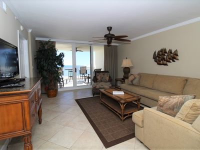 Photo for SeaSpray East 323- Beach Front Views from Terrace with Luxurious Interior!