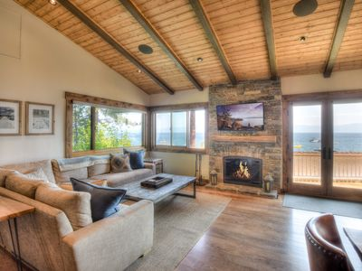 Photo for Lakefront Condo on the West Shore, Panoramic Views