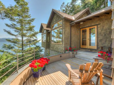 Photo for Waterfront**Spectacular Million Dollar Views**Seacliff Cottage