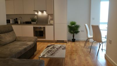Photo for LUXURY 1 BEDROOM APARTMENT IN LONDON  WOOLWICH
