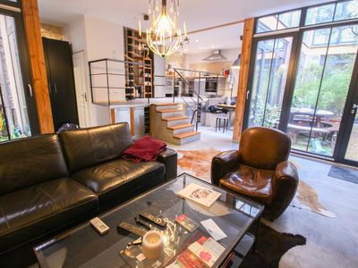 Photo for SUBLIME 115SQM HOUSE WITH PATIO - BUTTES CHAUMONT