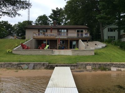 Beautiful Lake Front Home with Private Dock.