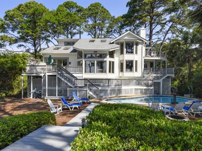 Photo for Oceanfront, Luxury Home, Large Pool and Yard, Private Sundeck/Hot Tub, Free Pool Heat until May