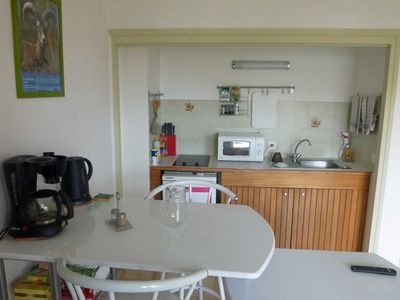 Photo for STUDIO in CALVI, for 2 ADULTS and 2 YOUNG CHILDREN.
