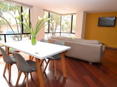 Photo for NANCY B - 2 BR.  Executive Apartment with wood floors