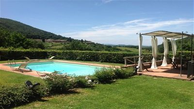 Photo for Charming Chianti house with pool