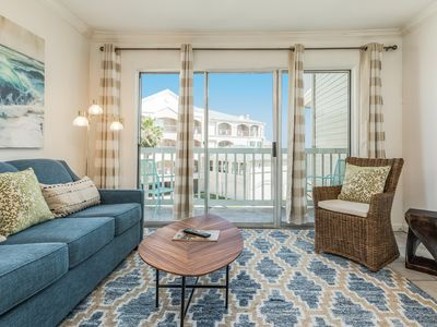 Photo for A jewel of a condo on Seawall with shared pool & hot tub